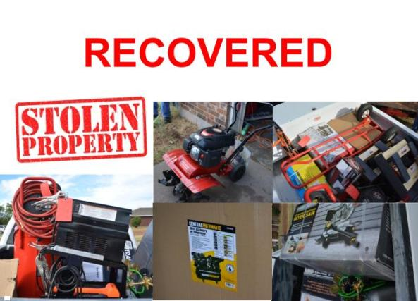 Recovered property