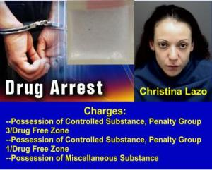 Lazo drug arrest