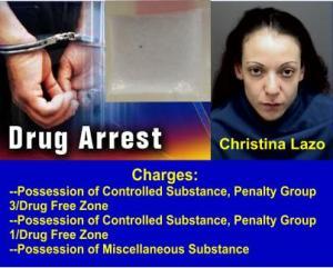 Lazo drug arrest