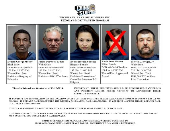 Texoma's Most Wanted 12-12-2014-page0001