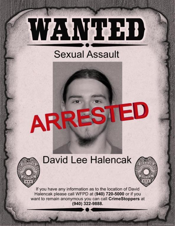 Halencak arrested