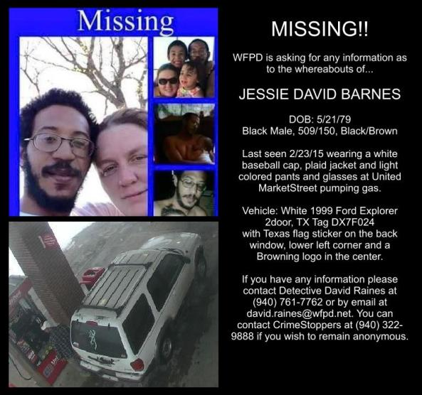 Missing Barnes
