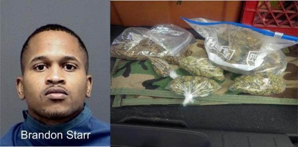Starr arrest