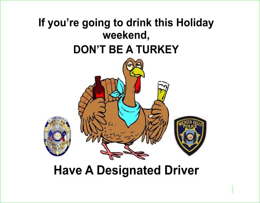 thanksgiving dwi message
